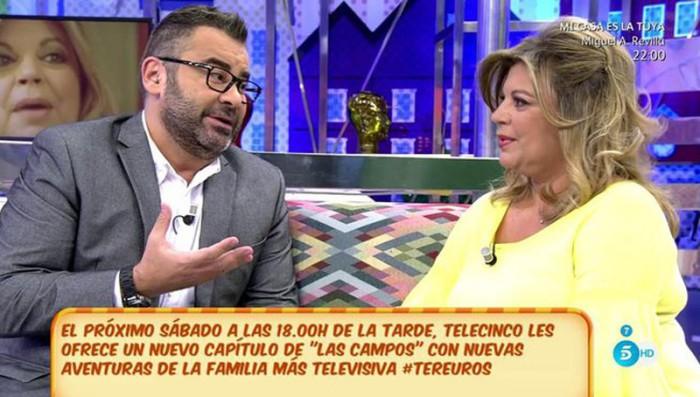 """Terelu Campos se hunde ante las críticas de """"la calle"""""""
