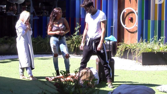Alyson no quiere que Marco deje la casa de GH VIP 5