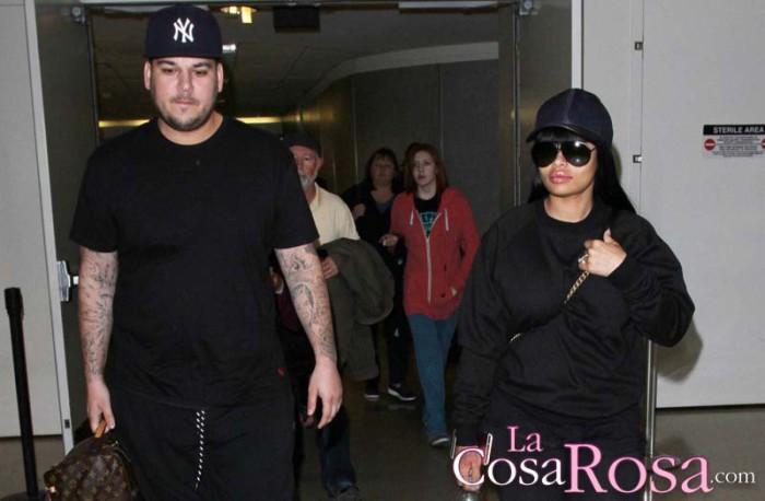 Blac Chyna amenaza con revelar intimidades de las Kardashian