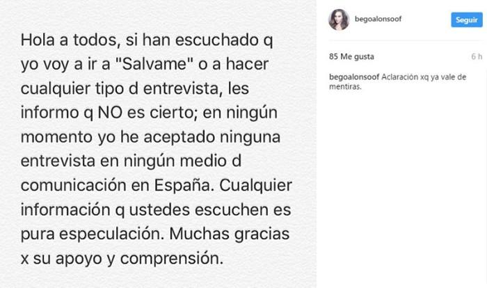 Begoña Alonso (exnovia de David Bustamante) regresa a España para visitar Sábado Deluxe