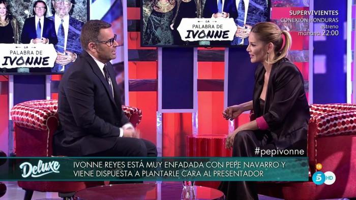 Jorge Javier Vázquez se enfrenta a Ivonne Reyes