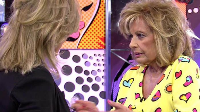 María Teresa Campos se pronuncia sobre el estado de su relación Bigote Arrocet