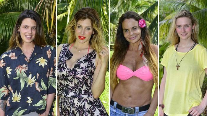 Leticia Sabater, Janet Capdevila, Paola Caruso y Laura Matamoros, nominadas en Supervivientes 2017