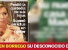 Carmen Borrego perdió la custodia de sus hijos y sufrió un ictus y cáncer de útero