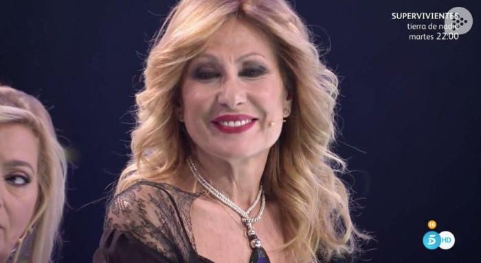 Rosa Benito choca con Antonio David Flores en su reaparición televisiva