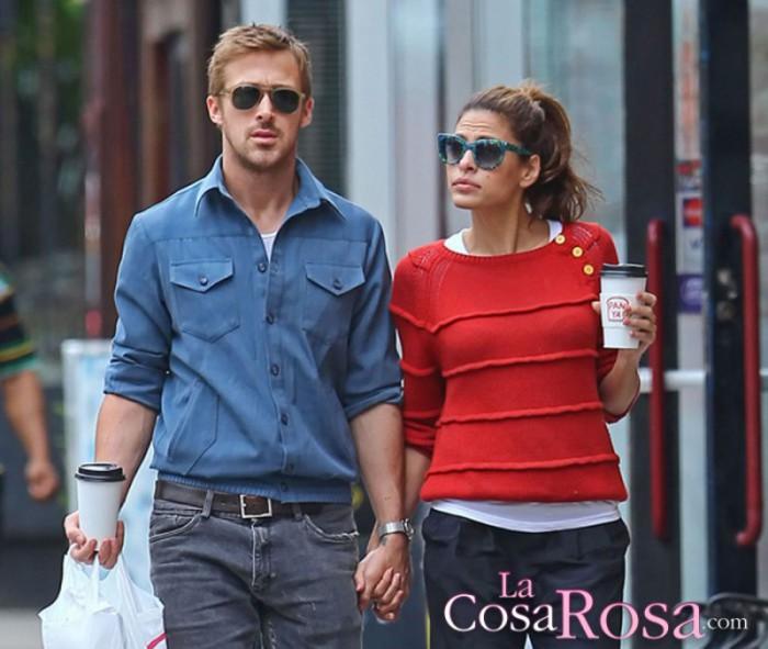Rumores de crisis entre Ryan Gosling y Eva Mendes