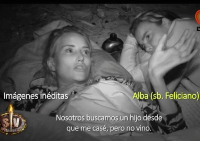 Alba Carrillo compara a Feliciano López y a Fonsi Nieto