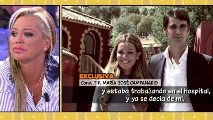 María José Campanario habla para Sálvame y provoca a Belén Esteban