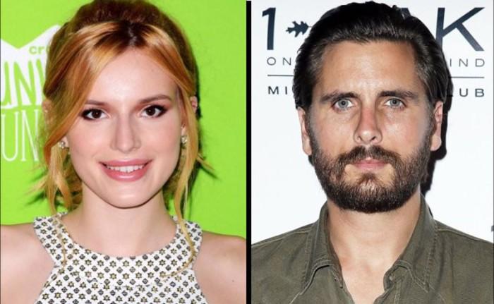 Bella Thorne quiere olvidar a Scott Disick y Cannes