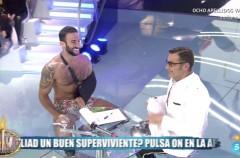 Eliad Cohen se emociona en plató y Janet Capdevila es expulsada en Supervivientes 2017