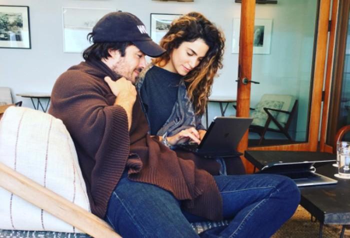 Ian Somerhalder y Nikki Reed anuncian que van a ser padres