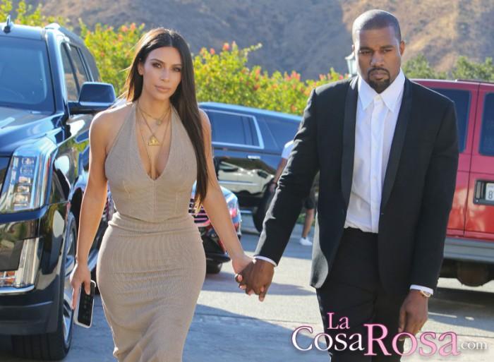 Kim Kardashian alaba a Kanye West y se muestra incómoda al hablar sobre Monica Rose