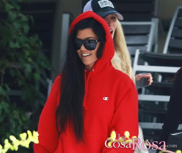 Kourtney Kardashian ilusionada con Younes Bendjima, un modelo de 24 años