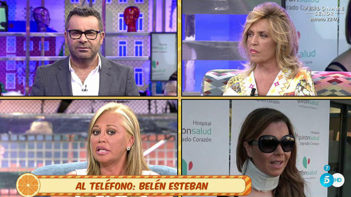 Belén Esteban no ha dicho nada malo de la enfermedad de María José Campario que vuelve al hospital