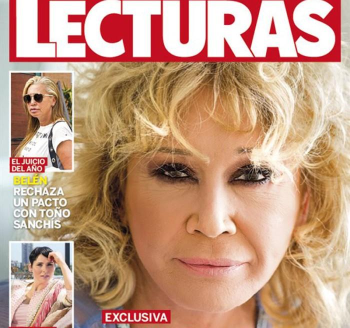 """Mila Ximénez muestra su """"nueva"""" cara en Lecturas"""
