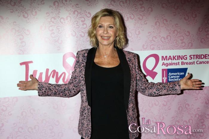 Olivia Newton-John anuncia que padece cáncer de mama