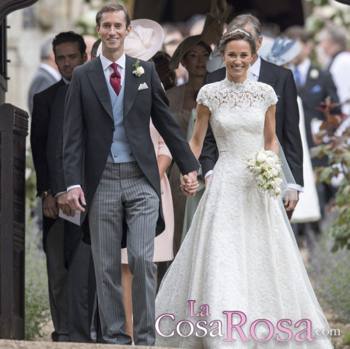 Así fue el vestido y la boda de Pippa Middleton