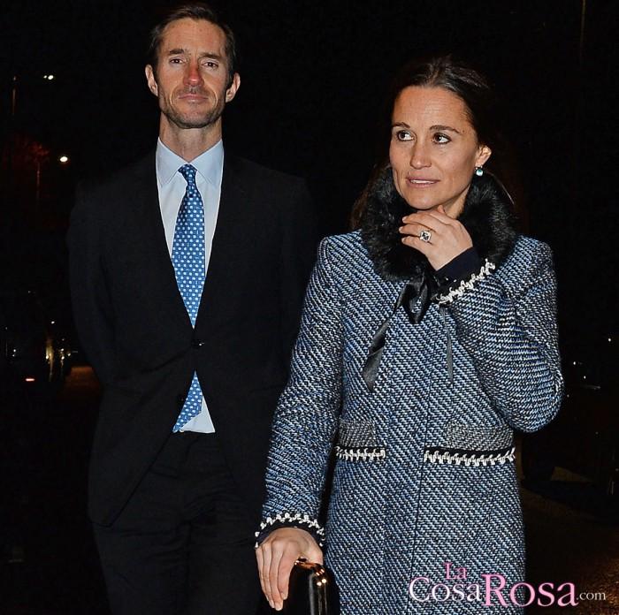 Detalles de la boda de Pippa Middleton y James Matthews