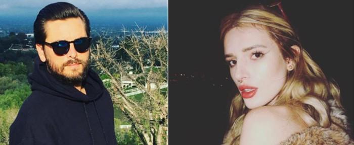 Scott Disick y Bella Thorne se divierten juntos