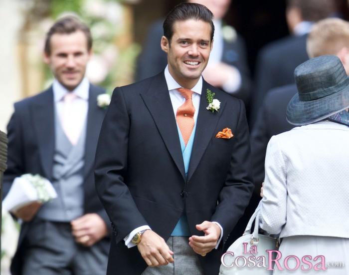 Spencer Matthews, protagonista de la boda de Pippa Middleton