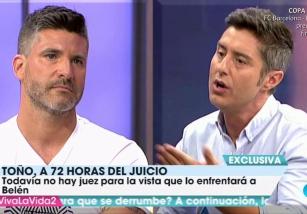 El juicio entre Belén Esteban y Toño Sanchís podría suspenderse