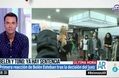 Belén Esteban gana el juicio a la empresa de Toño Sanchís