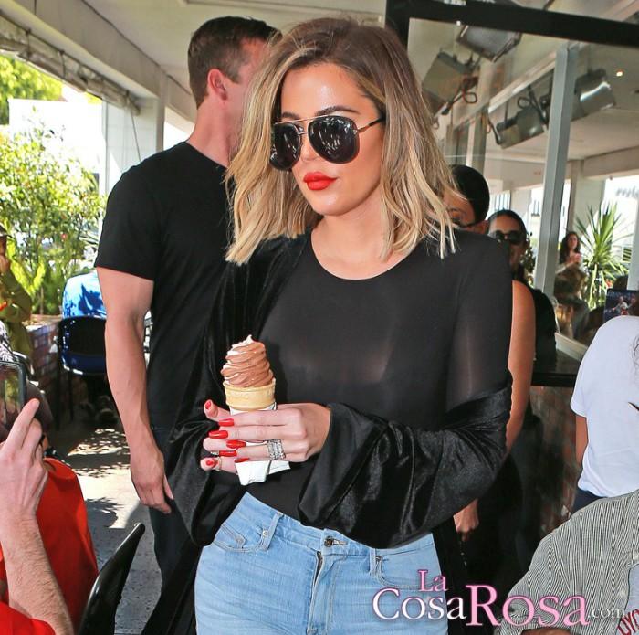 Khloe Kardashian asustada con sus problemas de fertilidad