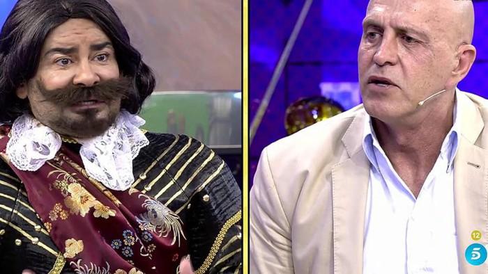 Jorge Javier Vázquez molesto por las críticas de los Matamoros a Supervivientes