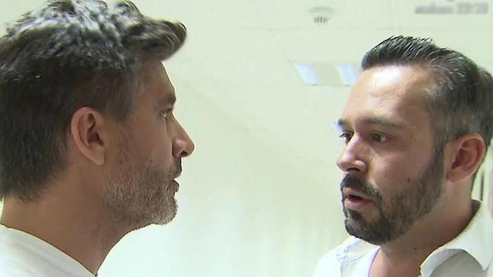 Toño Sanchís quiere responder a Belén Esteban posando con Lorena, su mujer