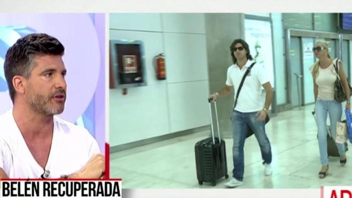 Toño Sanchís felicita con ironía a Belén Esteban por su carnet de conducir
