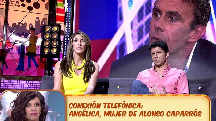"""Andrés Caparrós justifica a su hermano tras el """"ataque"""" a su padre en Sábado Deluxe"""