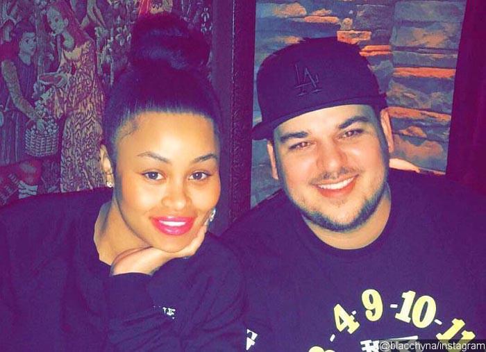 Blac Chyna acusa a Rob Kardashian de golpearla