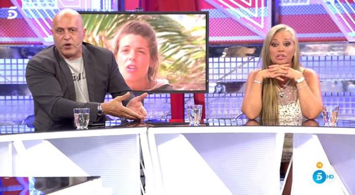 Kiko Matamoros molesto con Belén Esteban porque no quiere que Laura gane Supervivientes
