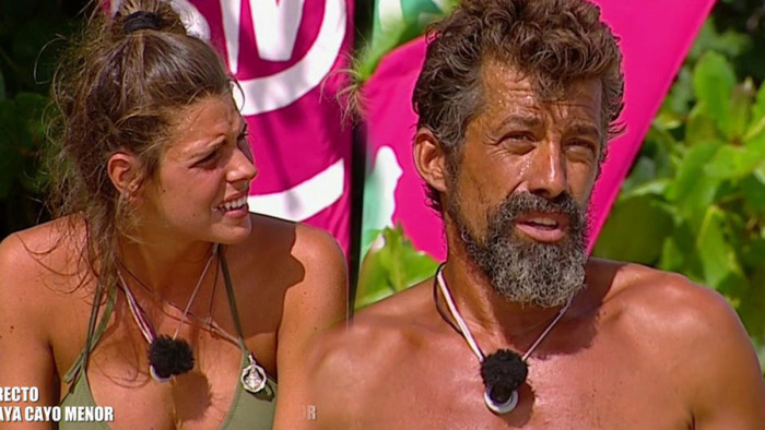 Laura Matamoros y José Luis Losa, tensiones entre los primeros finalistas de Supervivientes