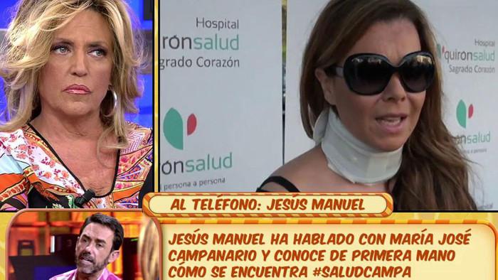 María José Campanario está ingresada en un centro psiquiátrico