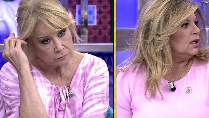 Mila Ximénez y Terelu Campos, buenos deseos y reconciliación televisiva