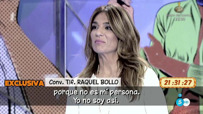 Raquel Bollo confirma que está enamorada