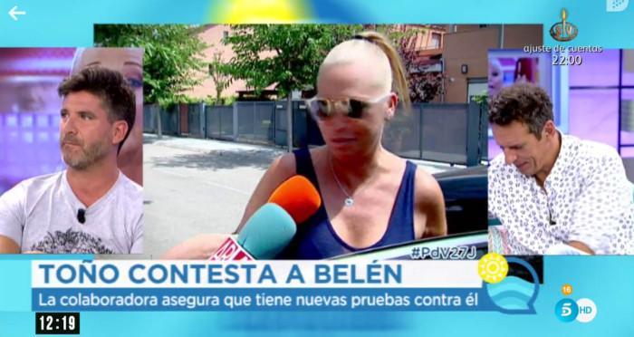 """Toño Sanchís sobre Belén Esteban: """"Quiere estirar el chicle"""""""