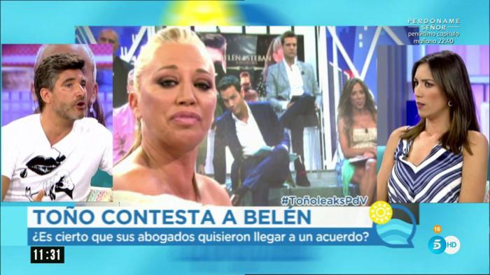 """Toño Sanchís: """"Belén Esteban no saber acabar sus relaciones"""""""