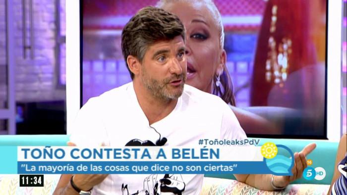 """Toño Sanchís: """"Belén Esteban no sabe acabar sus relaciones"""""""