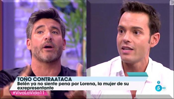 """Toño Sanchís: """"Belén Esteban es capaz de mentir en cosas esenciales"""""""