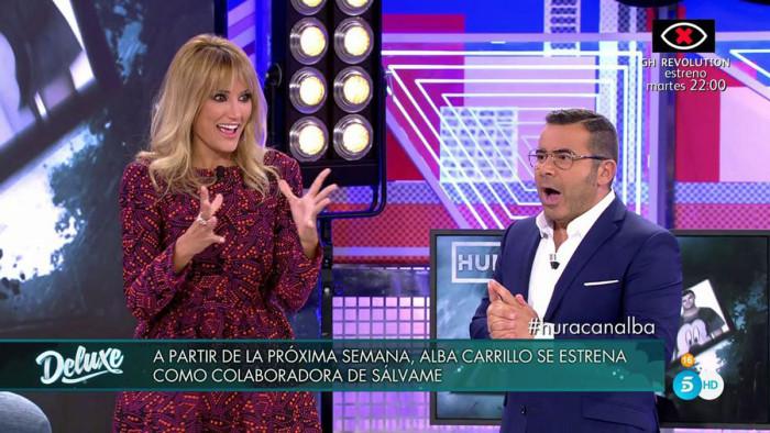 Alba Carrillo tendrá una sección deportiva en Sálvame