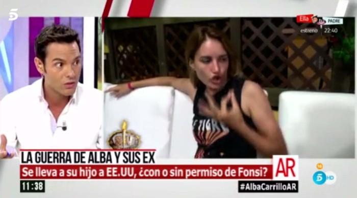 Alba Carrillo se lleva a su hijo a EE.UU sin informar a Fonsi Nieto
