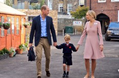 Kate Middleton se pierde el primer día de colegio del príncipe George