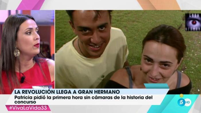 Patricia Ledesma recuerda su relación con Kiko Hernández