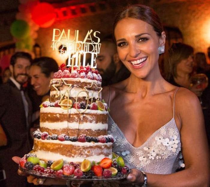 Paula Echevarría celebra un 40 cumpleaños por todo lo alto sin Bustamante