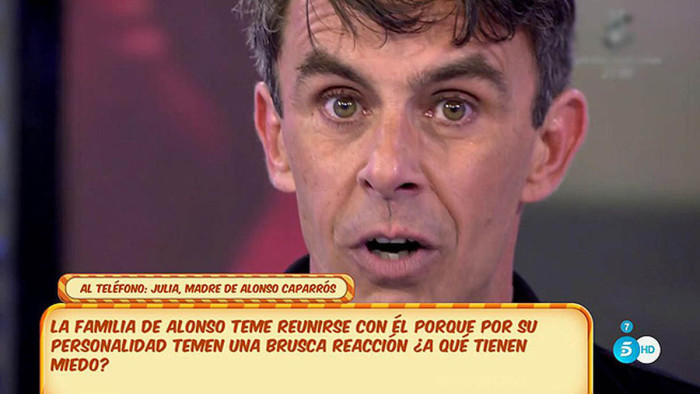 Alonso Caparrós llegó como colaborador a Sálvame con polémica familiar