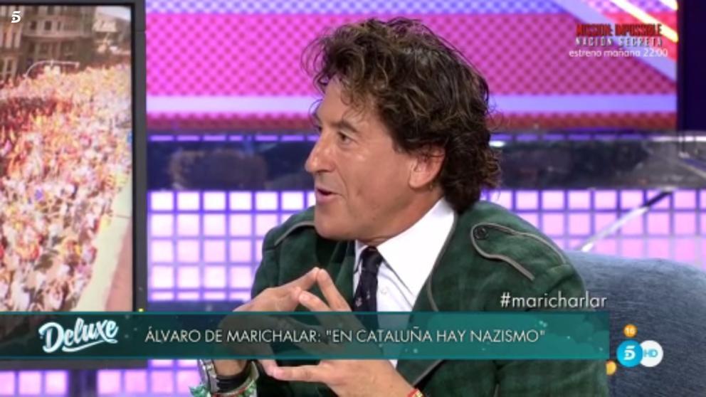 Álvaro de Marichalar y su respuesta a Jorge Javier Vázquez tras su incidente