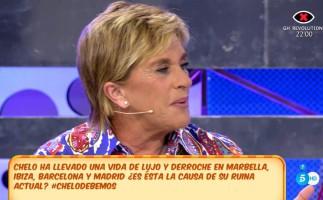 Chelo García Cortés y sus problemas financieros