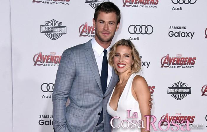 Chris Hemsworth reconoce que Elsa Pataky ha sacrificado su carrera por su familia